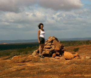 The view from the top of Wardagga - I took Kia here many times in her childhood