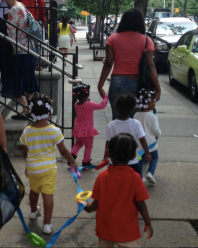 children in Harlem